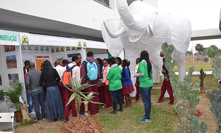 """Exposição """"Parcerias para a Conservação em Moçambique e Feira sobre Biodiversidade"""""""