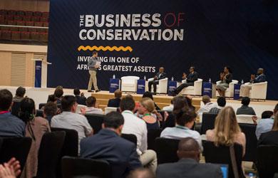 PLCM procura parcerias no Business of Conservation Conference, Kigali 2019